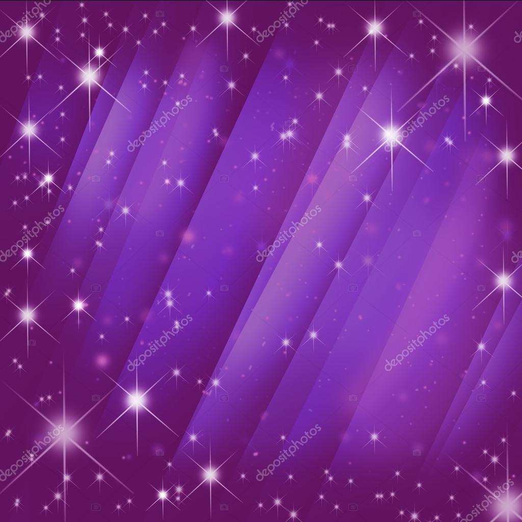 Stars burst on motion pink