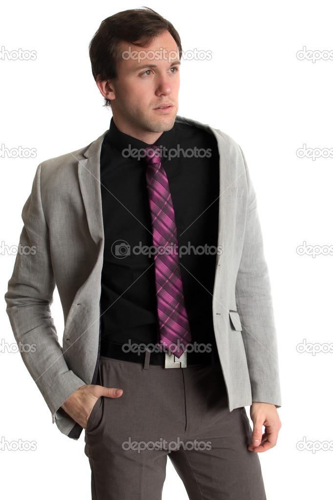Hombres Bien Vestidos Formal Hombre Bien Vestido Foto De