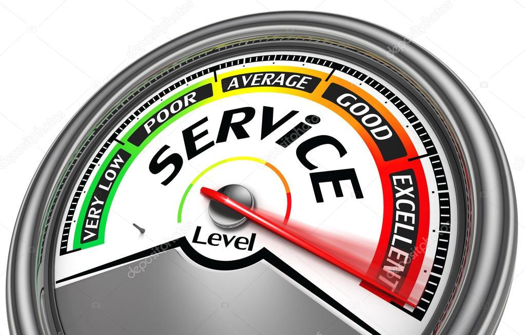service level meter