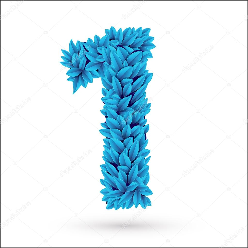 One 1 number.