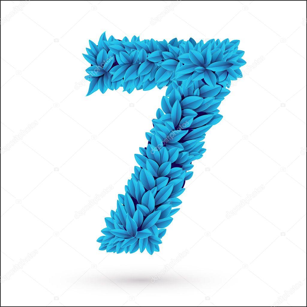 Seven 7 number.