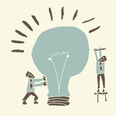 teamwork results in creating ideas