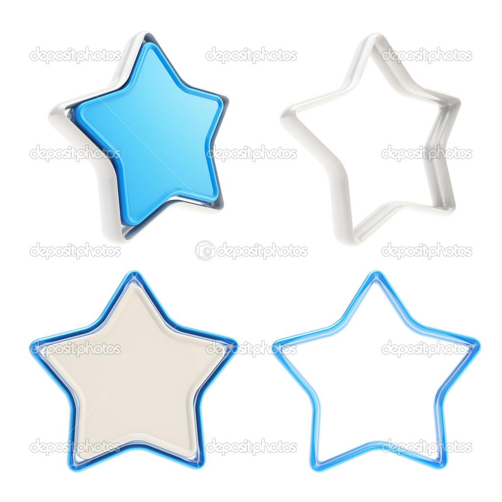 Vorlage Symbol Embleme für Star bewerten Abstimmung Bewertung ...