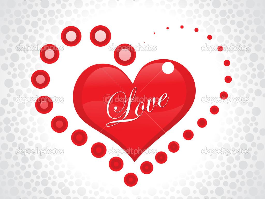 Soyut Aşk Duvar Kağıdı Stok Vektör Rioillustrator 18251117