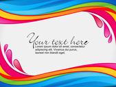 Fotografia confine di splash colore astratto colorato arcobaleno