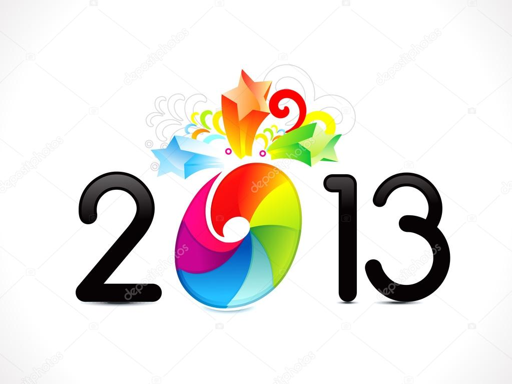 abstract colorful new year background vector illustration vector by rioillustrator