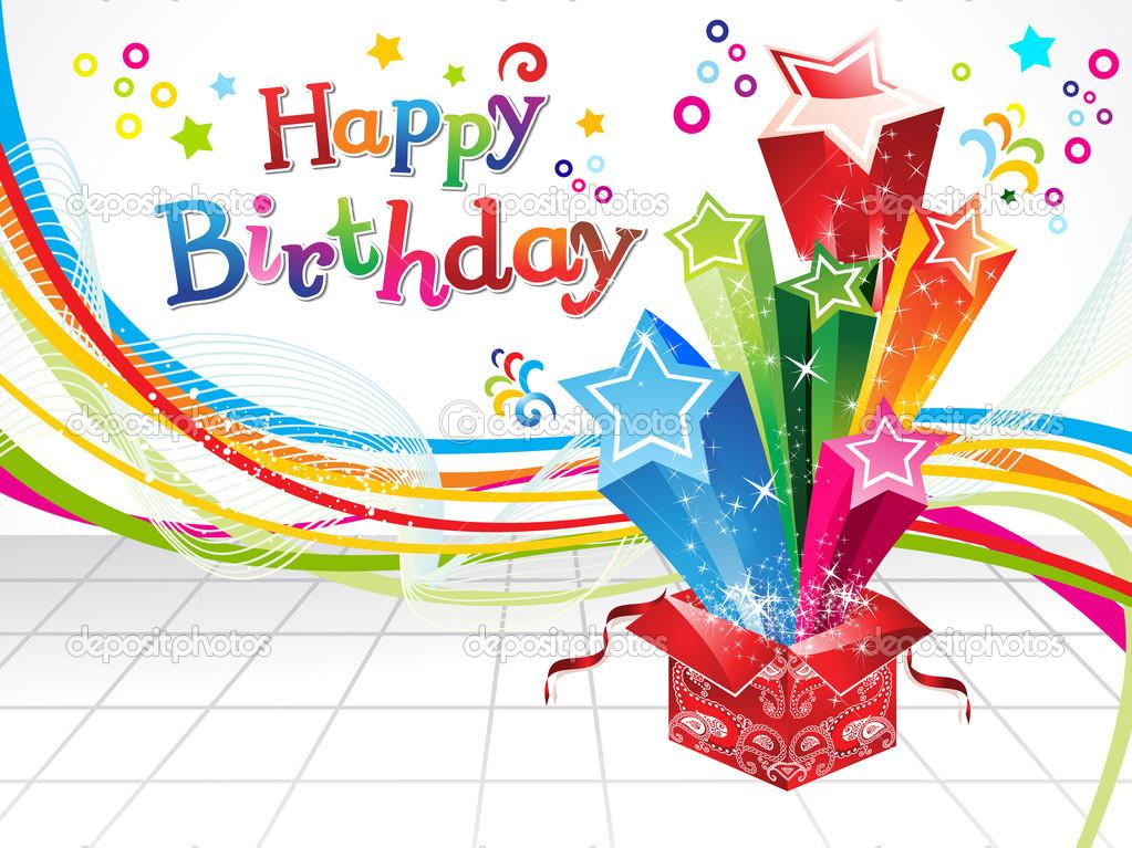 happy birthday background images