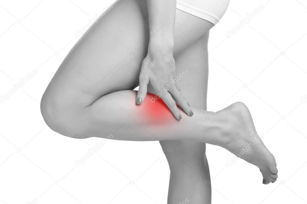 smärta i underbenet
