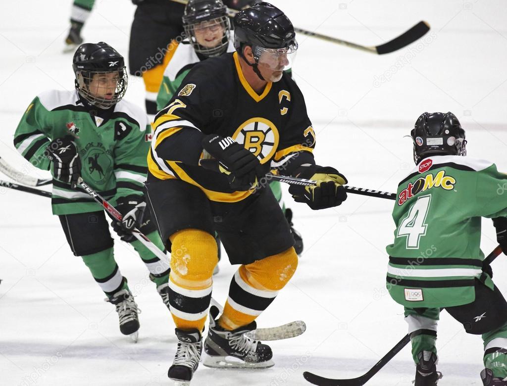 Boston Bruins Alumni Hockey Game Ray Bourque Kids Stock Editorial Photo C Jamieroach 44678261