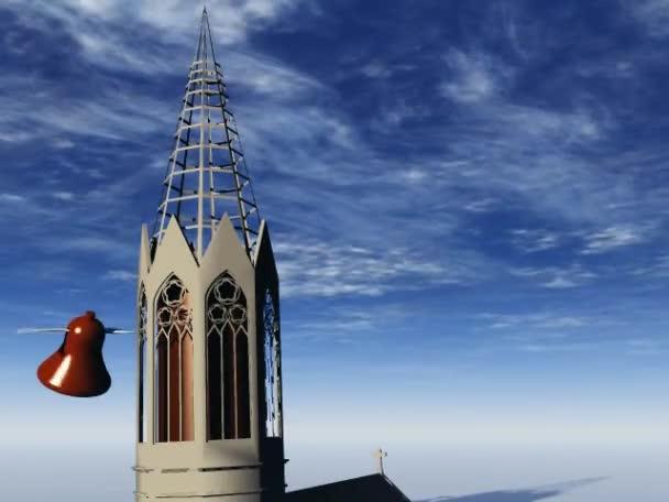 Bells flying around the belfry