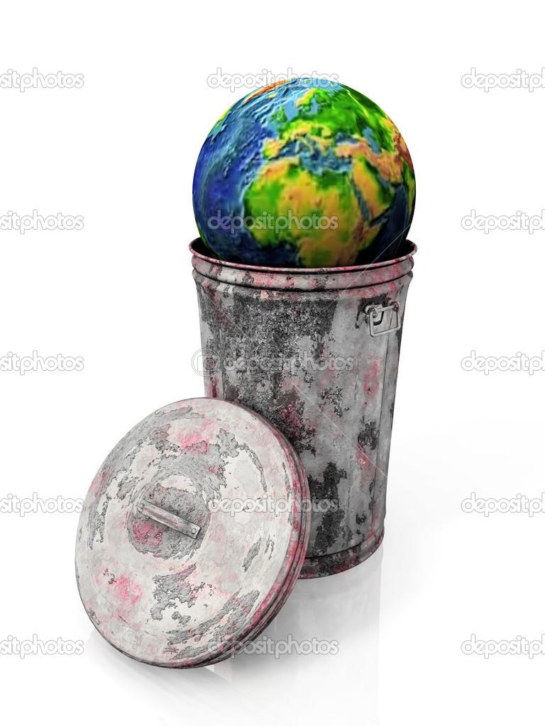 Billions Of Tons Plastic Trash Aculating On Earth