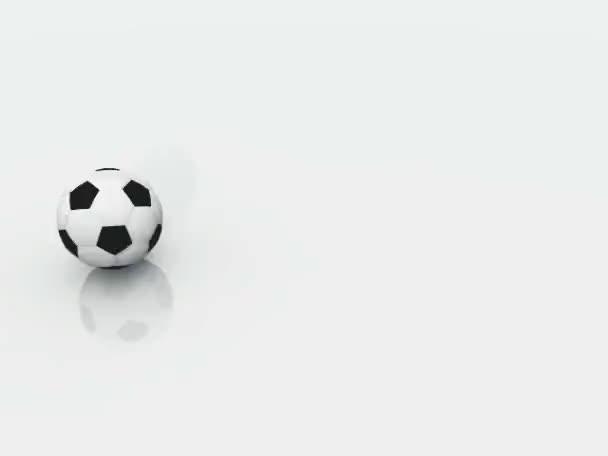 fotbalový míč izolované na bílém