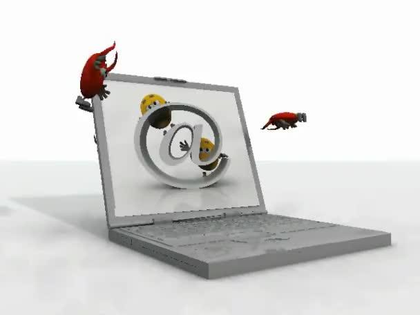 infikovaný počítač