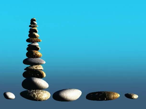 kameny a voda