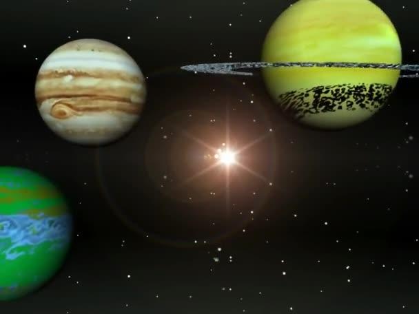 planety sluneční soustavy
