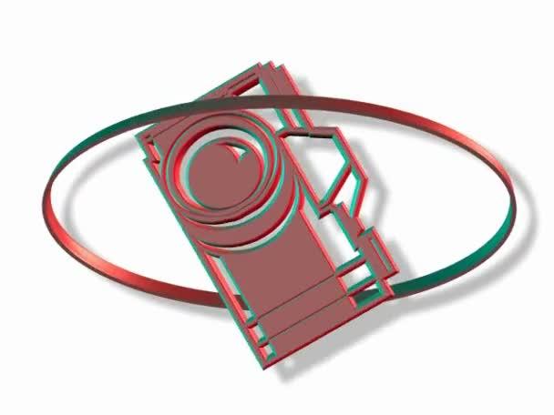 štítek fotografie fotoaparát