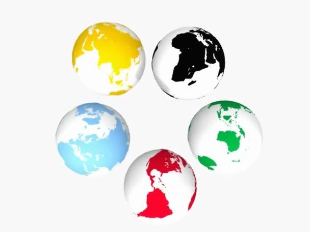 barevné země