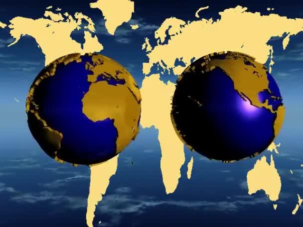 modrá země