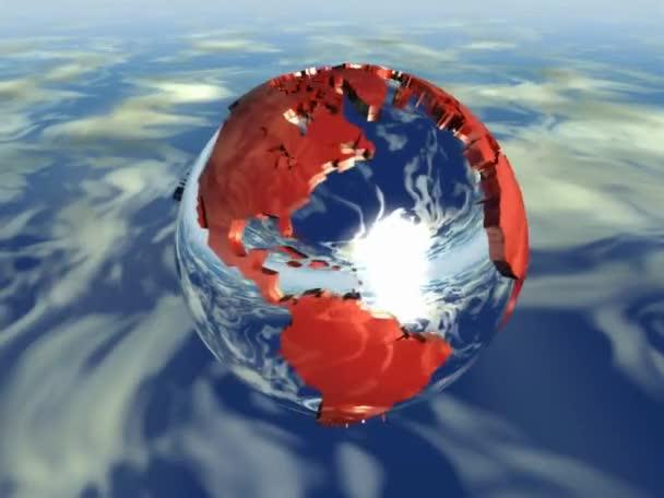 a föld a vízben