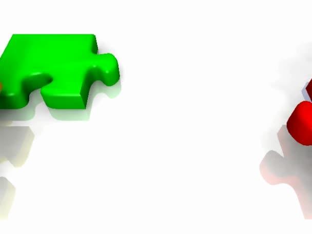 jednoduché 3d puzzle