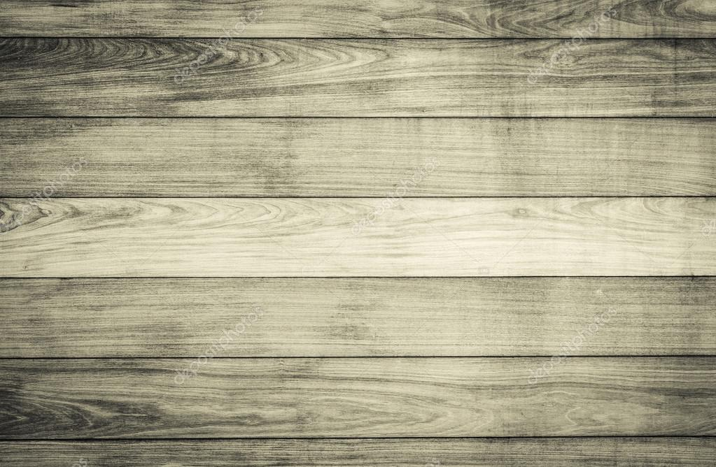 Horizontal wood plank