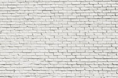 "Картина, постер, плакат, фотообои ""белая кирпичная стена"", артикул 27570167"