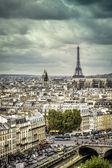 Fotografie Prohlédni na Eiffelovu věž v Paříži