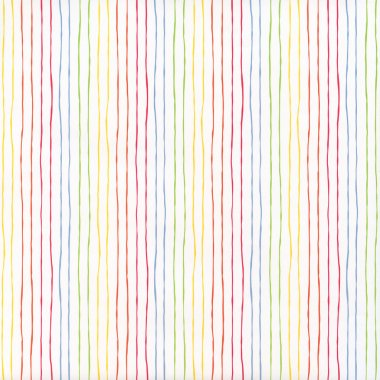 White background with color stripe pattern stock vector