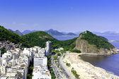 Fotografie pláž Copacabana slunečný den