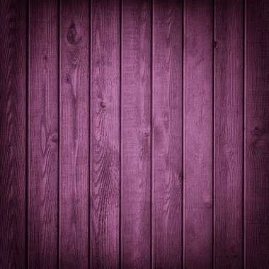 Purple old wood texture or background