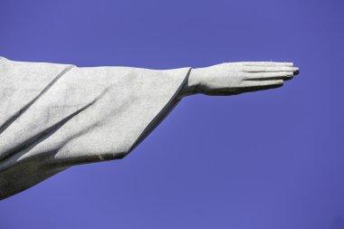 Hand of Christ the Redeemer in Rio de Janeiro, Brazil