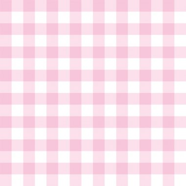 Seamless vector sweet pink and white background - classic checkered pattern or grid texture for web design ,desktop wallpaper or culinary blog website