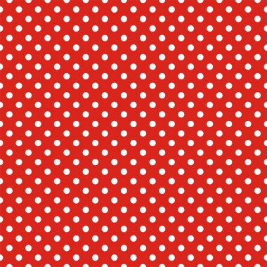 Retro seamless vector pattern with white polka dots on red background - retro texture for christmas background, blogs, www, scrapbooks, party or baby shower invitations and wedding cards. clip art vector