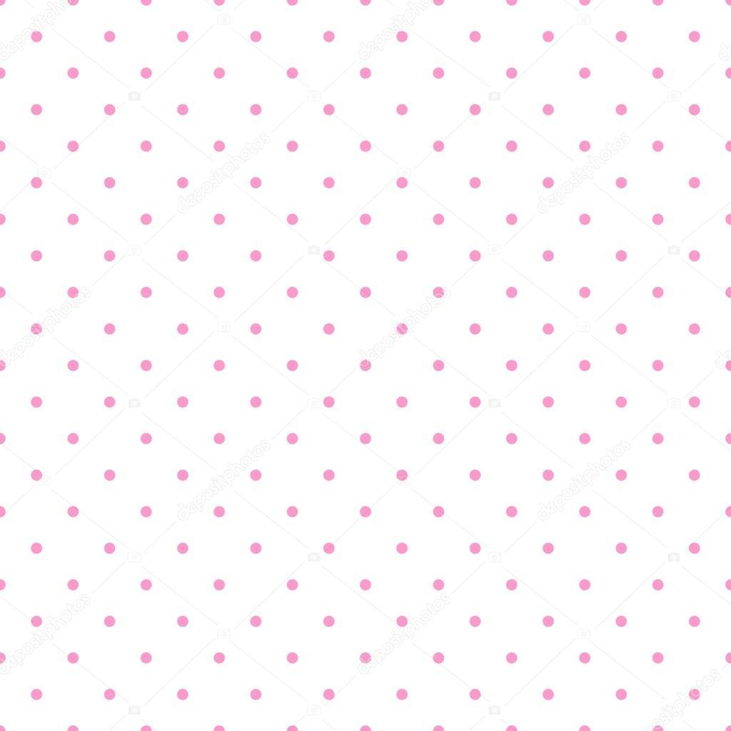patrón de vector transparente con lunares de color rosa pastel bebé ...