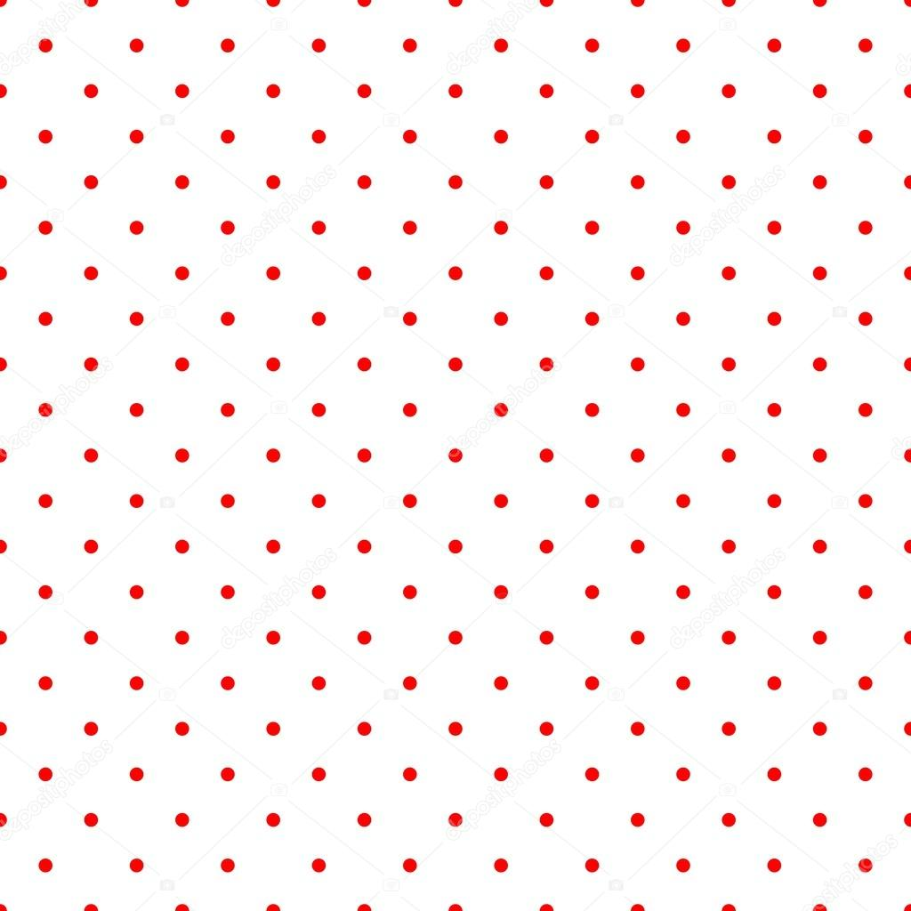 Retro Vector Pattern With Red Polka Dots On Whitebackground Vintage Seamless Texture For Kids Background Website Design Blog Desktop Wallpaper Stock Vector C Mala Ma 41705577