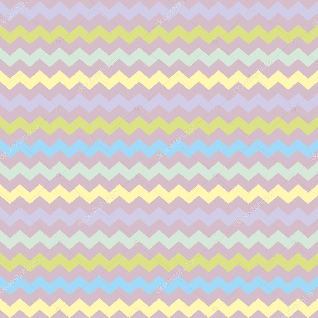 Wrapping Chevron Seamless Colorful Vector Pattern Or Background With Zig Zag Green Blue Violet