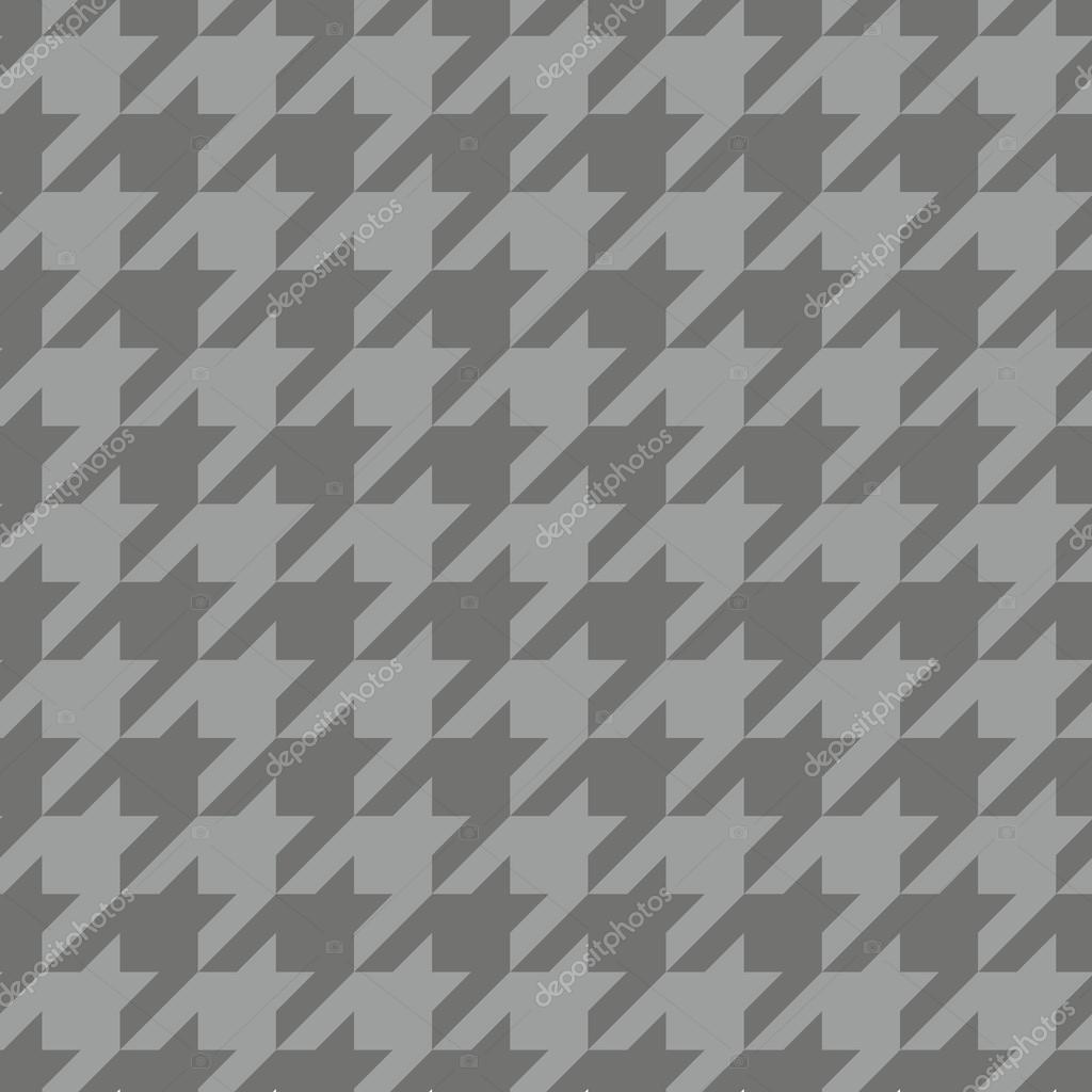 Houndstooth Seamless Vector Pattern Traditional Scottish