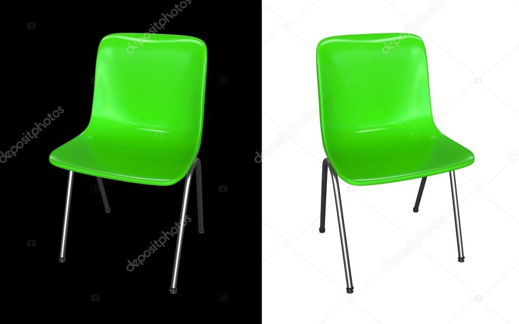 Prime Green Modern Chair Isolated On Black And White Background Caraccident5 Cool Chair Designs And Ideas Caraccident5Info