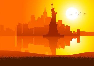 New York City On Sunset