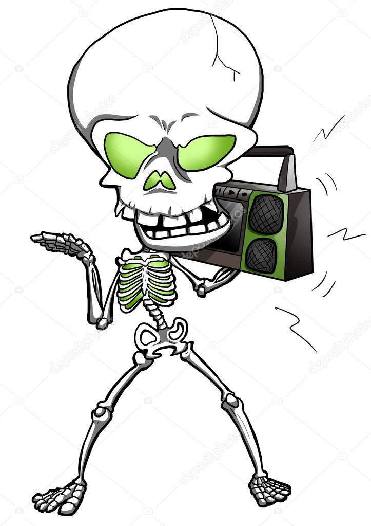 esqueleto Funky — Fotos de Stock © rudall30 #32514365