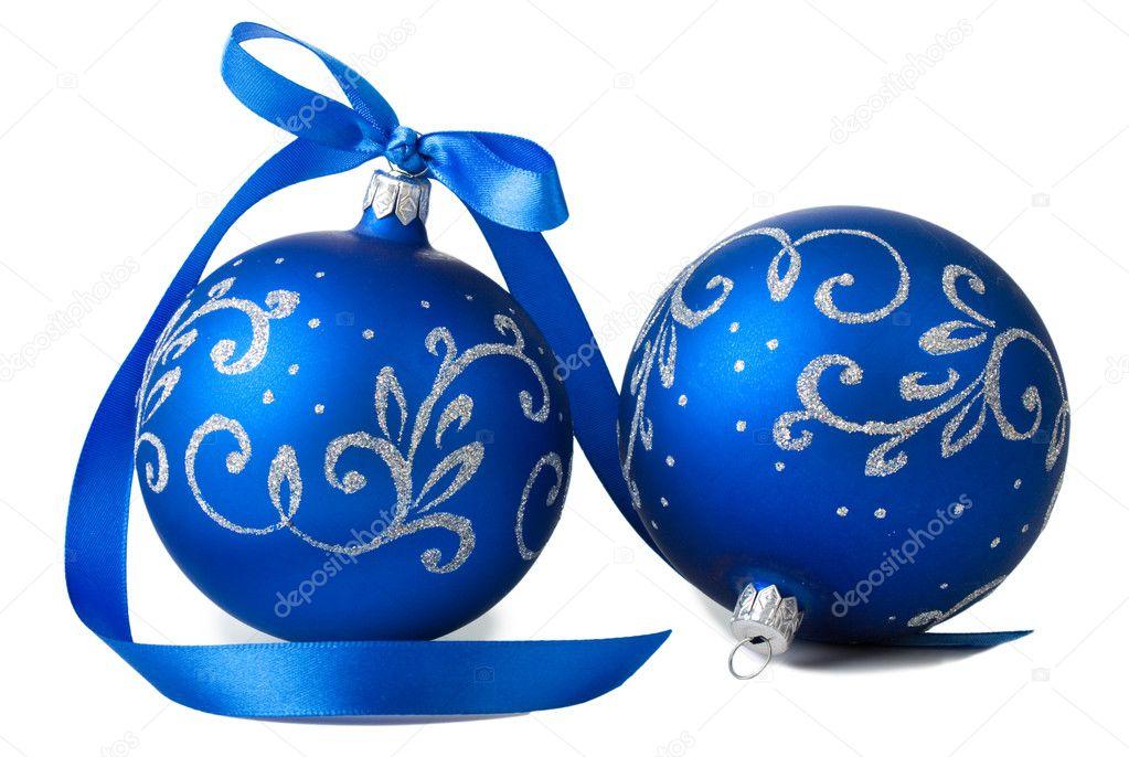 Blue Christmas Balls Stock Photo 169 Andrewsht 33233111