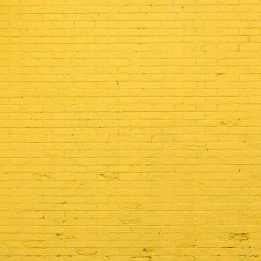 """Картина, постер, плакат, фотообои """"желтая кирпичная текстура"""", артикул 32253401"""