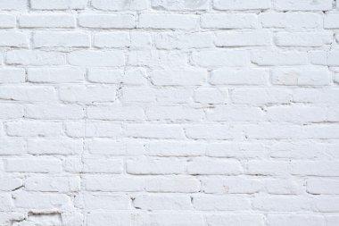 background white brick wall