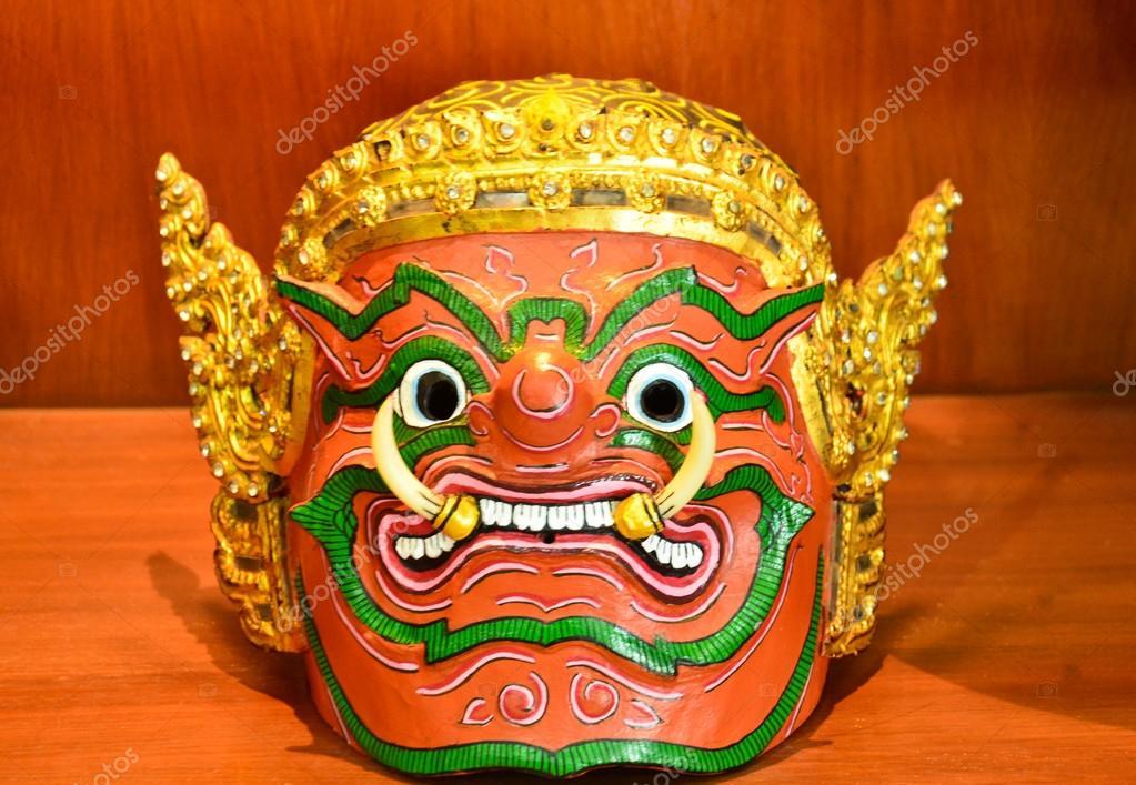 acheter pas cher rechercher l'original grand Prix Masque thaïlandais — Photographie niamwhan © #30073851