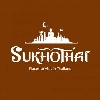 Sukhothai Province message text design
