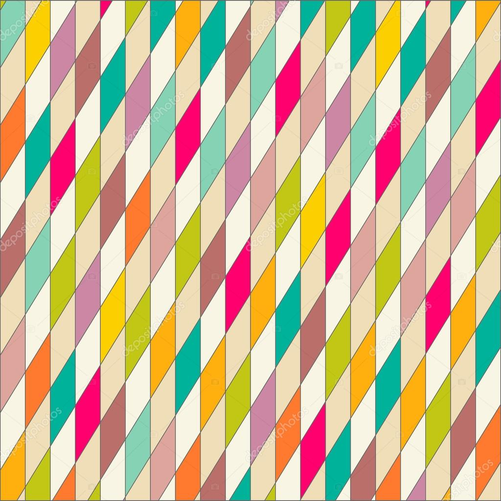 Wallpaper colorful triangles pattern geometric background — Stock ...