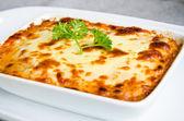 Fotografia lasagne fresche