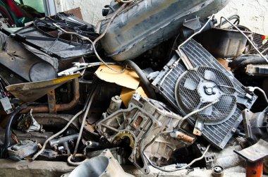 Scrap parts.