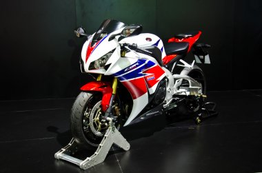 The Honda CBR 1000 RR motorcycle