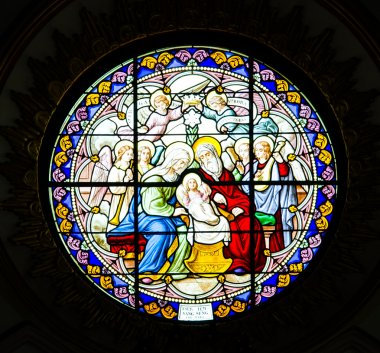 Antique Stained Glass Windows.